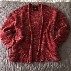 Urban Outfitters dark red sweater